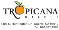 Tropicana Market logo and basic information